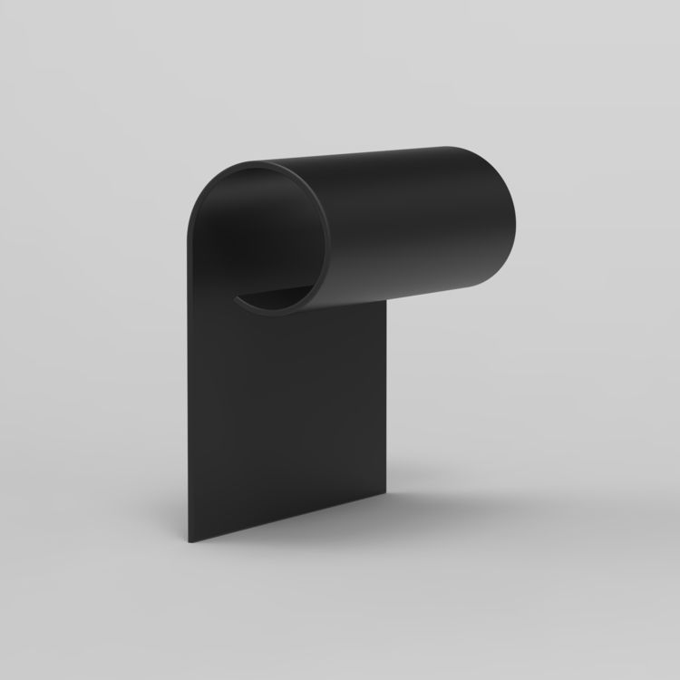 3D Alphabet Elmar van Zyl - minimalist   ello