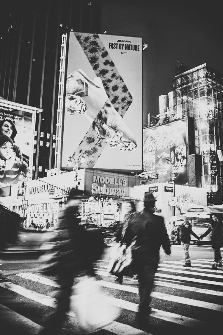 blackandwhite, newyork, streetphoto - marysiabil | ello