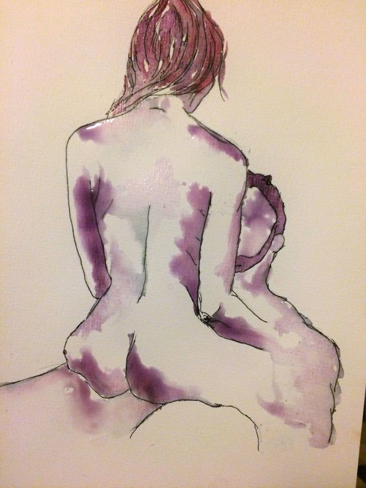 Watercolour paper, 120 euros - francescapiney | ello
