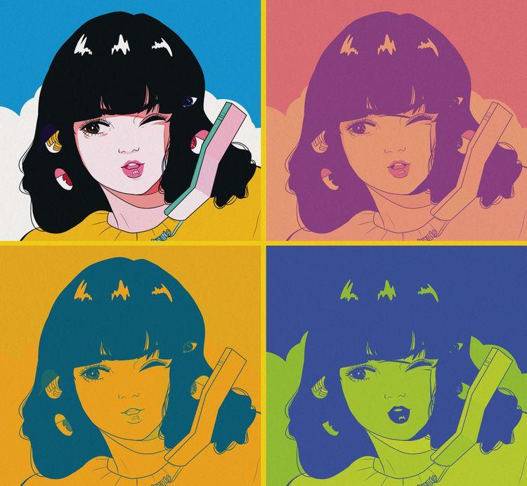 sort murakami inspired piece -  - raquelstar | ello