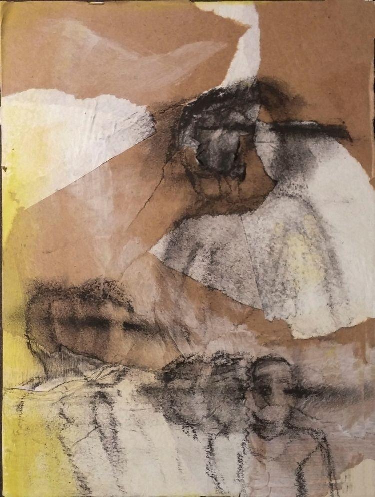 Famjam - mixedmedia, art, panel - vacant01 | ello