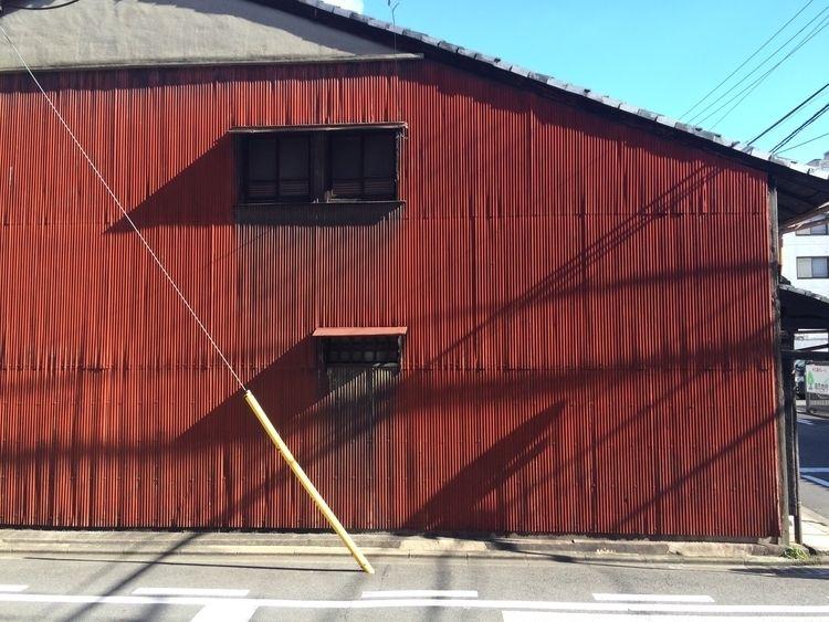 Corrugated house side, Kyoto, J - scokobro | ello