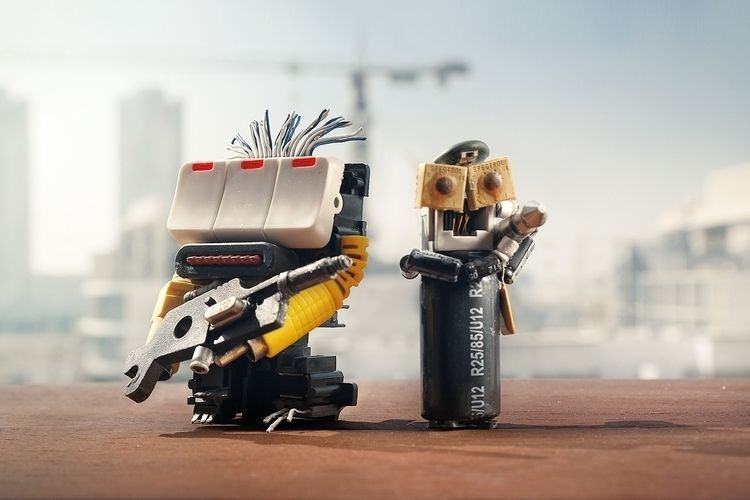 thewarriors, handmaderobot, robotics - fadyucf | ello