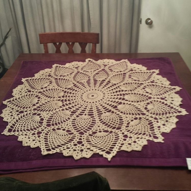 Big pineapple doily - saraivanhoe | ello