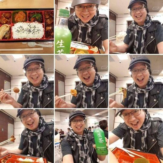 Enjoying 1st Meal — (Japanese F - vicsimon | ello