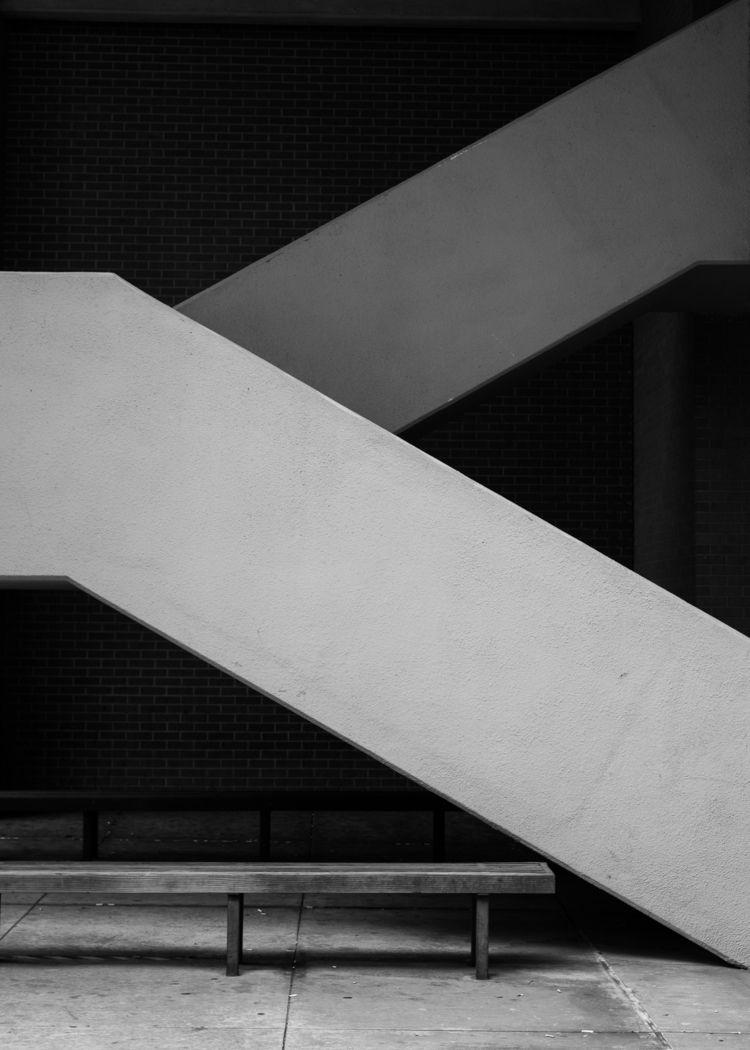 Stairs UTA - minimal, minimalism - timothy_hoang | ello