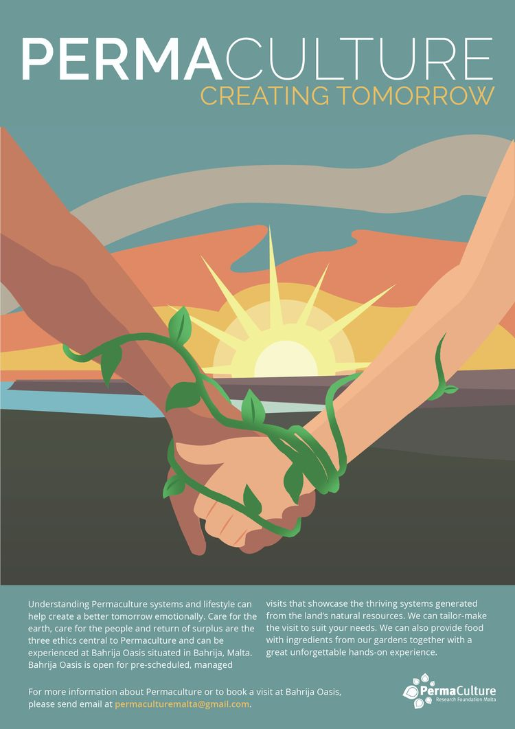 Permaculture poster illustratio - katya1997 | ello