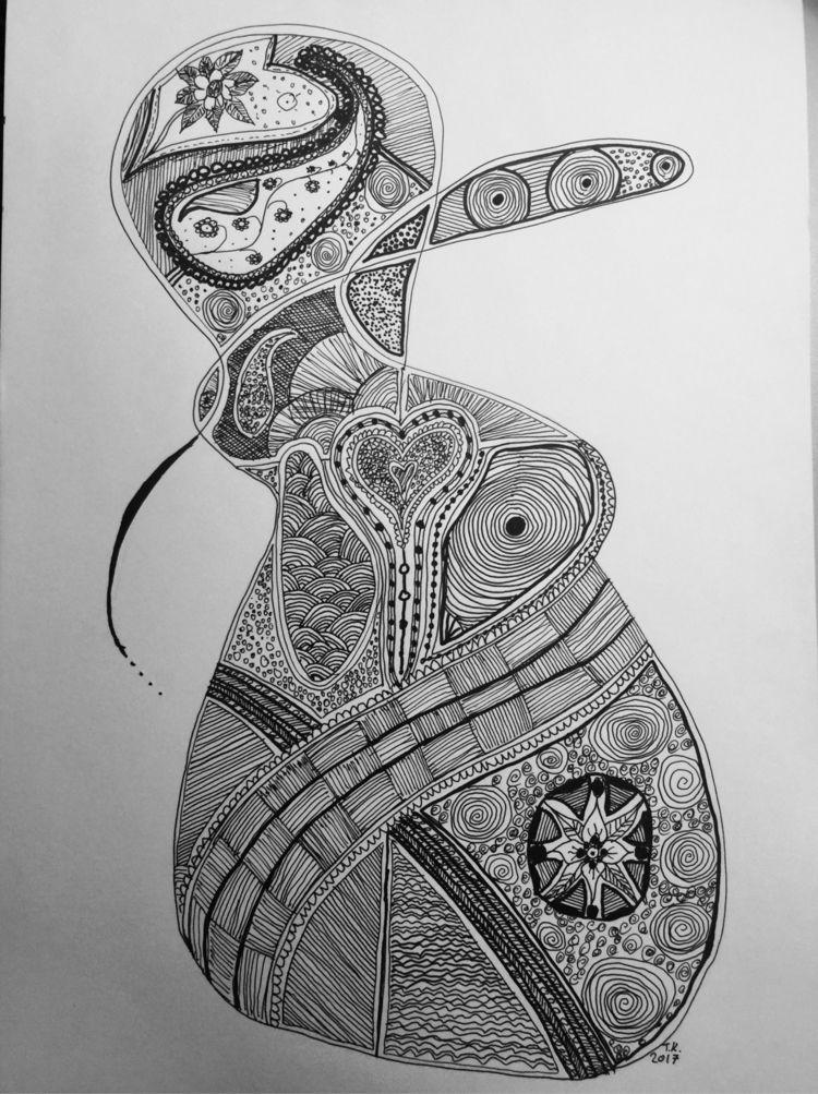 Doodles 2017 - penandink, doodle - thorsten_koerner   ello