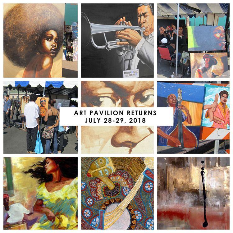 Art Pavilion Returns, July 28-2 - lamanchagallery | ello