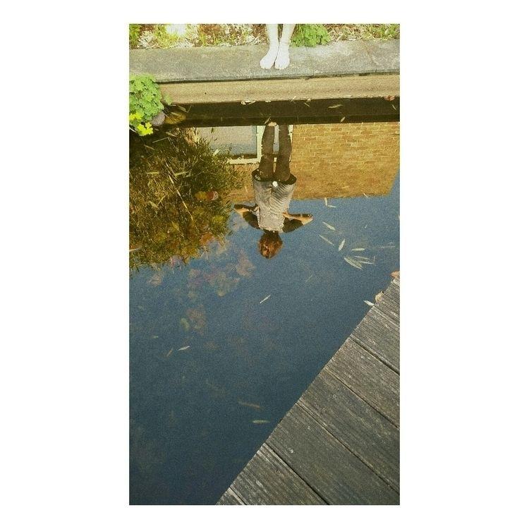 Reflection - reflection, girl, pool - vanloo | ello