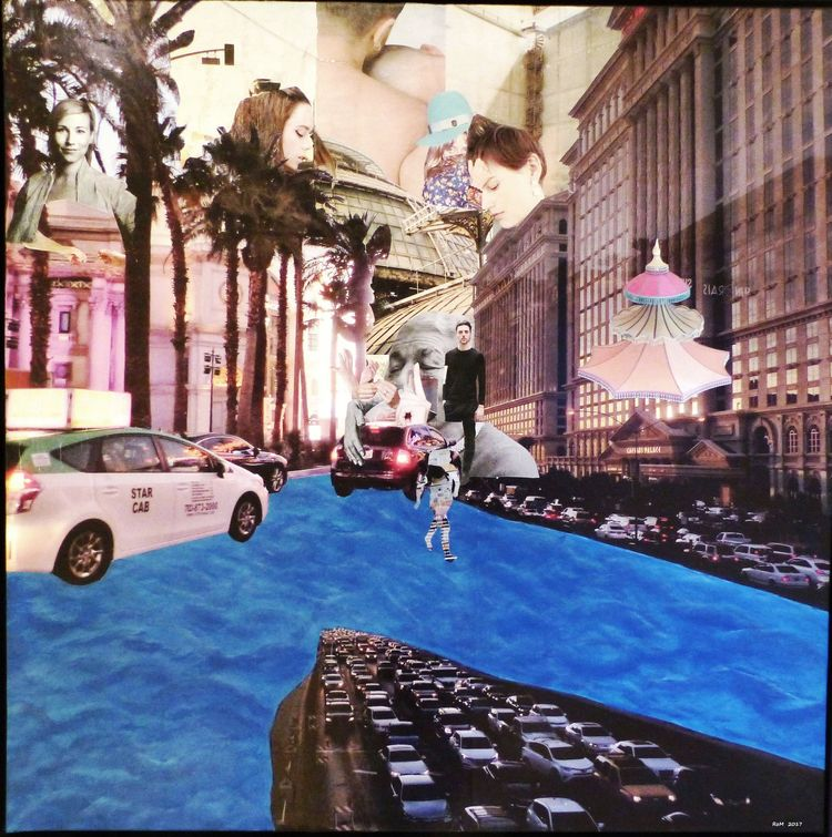 Waking Las Vegas, Collage uf Le - 11frances | ello