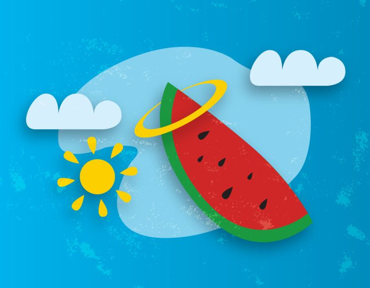 Summer vibes - illustration, design - todovisual | ello