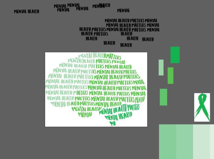 process calligraming brain, col - asomcha | ello
