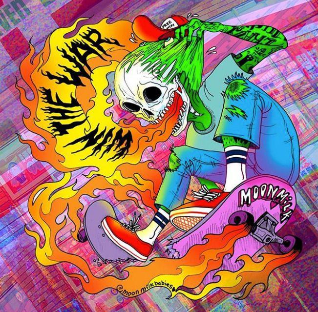 Win War Skate Die - moonmilkbabies   ello
