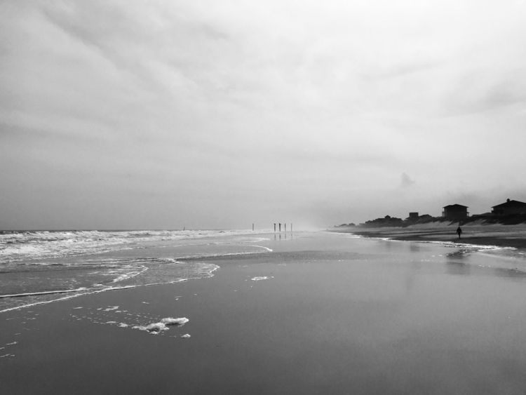 cold grey days coast. spent coo - kylemitchell | ello