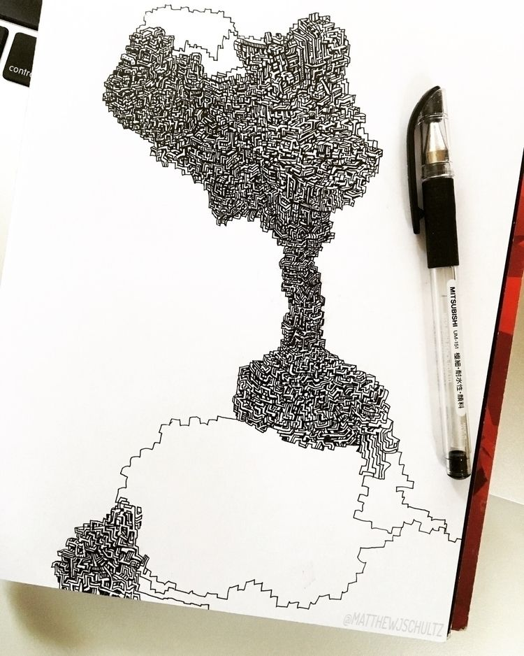 Drawing progress.  - art, wip, sketch - matthewjschultz   ello