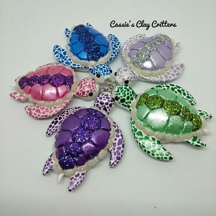 gorgeous turtles part Treasures - cassiesclaycritters | ello