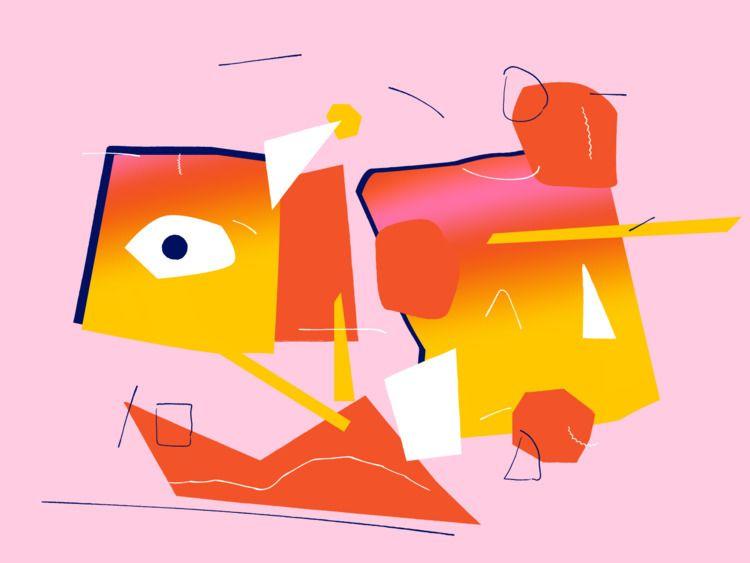 illustration, surrealism - adamho | ello