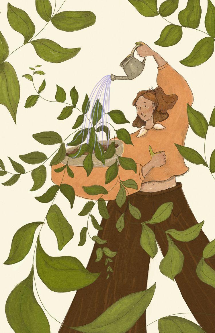 green thumb? Happy Earth Day - earthday - melaniemloiacono | ello
