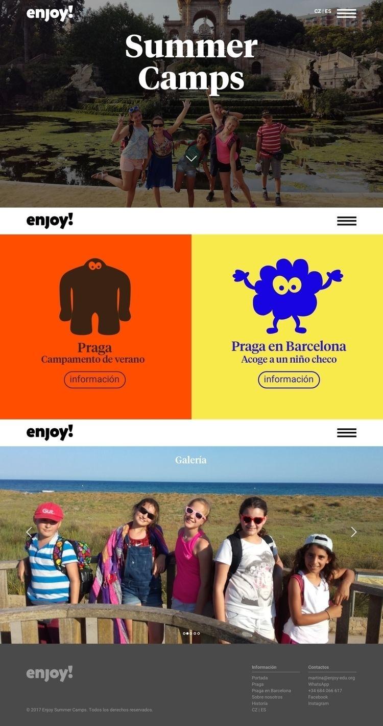 prague, barcelona, summercamps - marcosilfa | ello