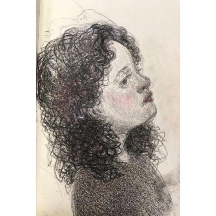 curls face! girl young deep gaz - yuliavirko | ello