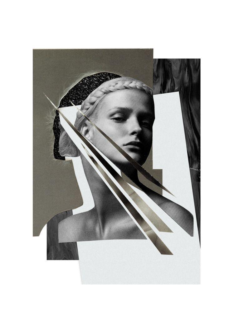pattern, black, glitter, marble - olaszatk | ello