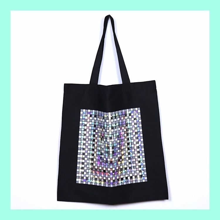 MOSAIC SILVER BAG  - pattern, colors - lb2studio | ello