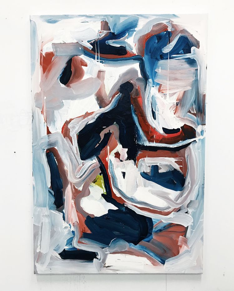 Untitled, 2018, oil cotton, 120 - adriancharlessmith | ello