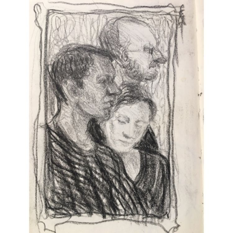 Doodling - portrait, pencil, art - yuliavirko | ello