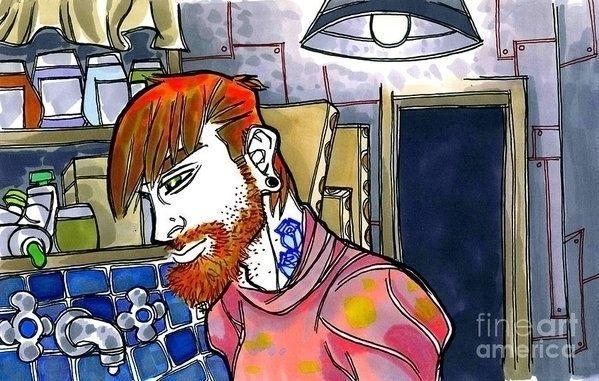 Studio Time!! Original Artwork - shedges   ello