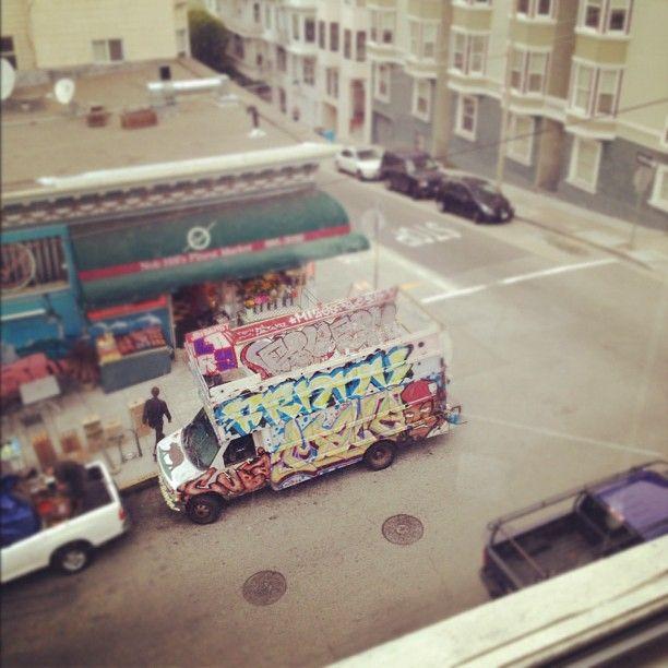 year working graffiti gallery.  - hercuriouslens | ello