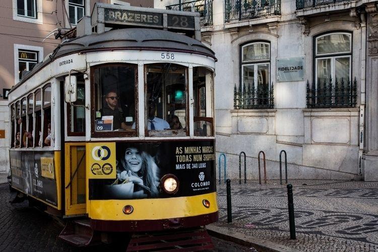 travel, tram, lisbon, lisboa - chrhunterphoto | ello