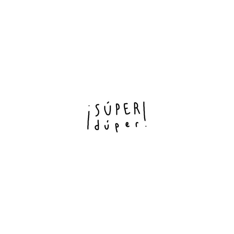 Súperduper - handwriting, typography - jimenadie | ello
