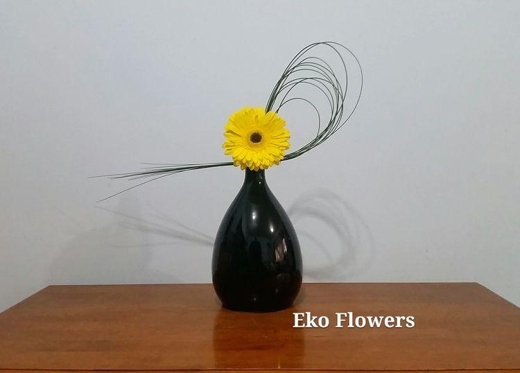 bright - ikebana, design, gerbera - ekoflowers | ello