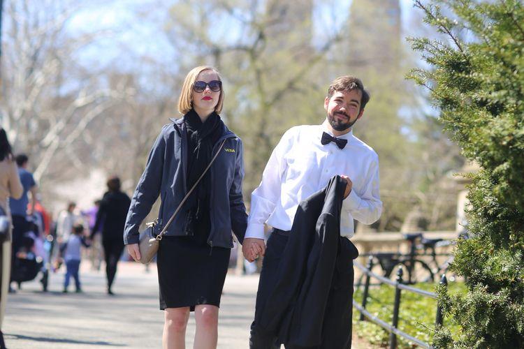 Formal couple dressed walking C - kevinrubin | ello