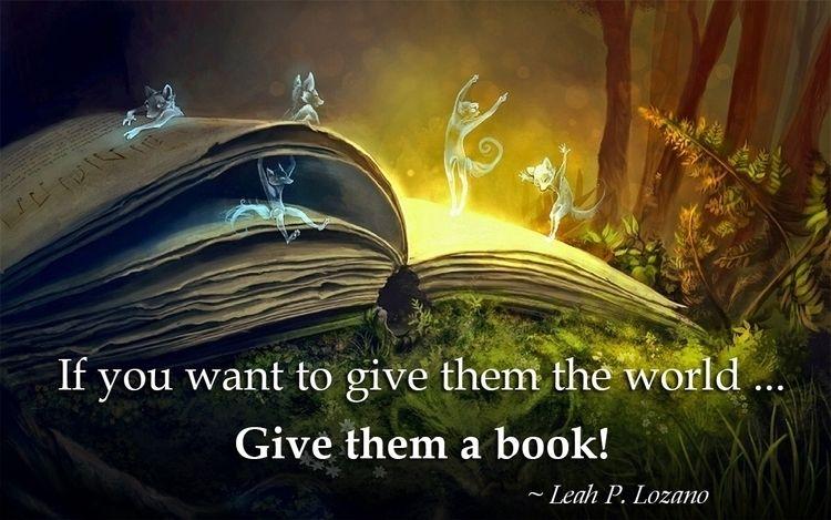 Give World - LoveOurReaders, IMMORTALIS - authorleahplozano | ello