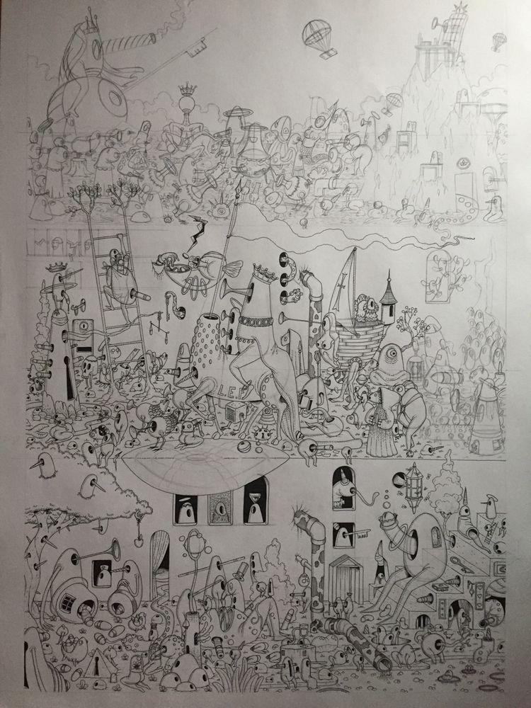illus, illustration, art, drawing - jimmy-draws | ello
