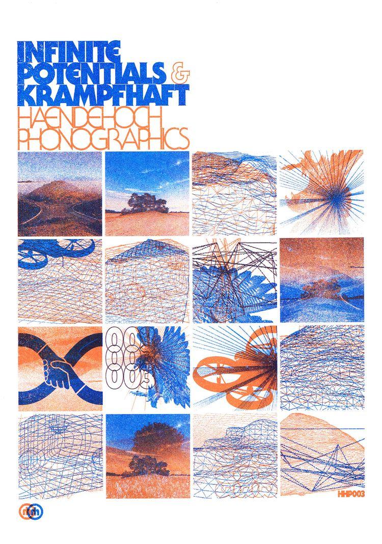 HHP003 Risographed cover. 100 v - daan_haendehoch | ello
