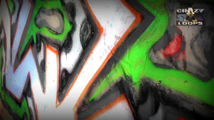 Fast Walking Graffiti - graffiti - crazy_loops | ello