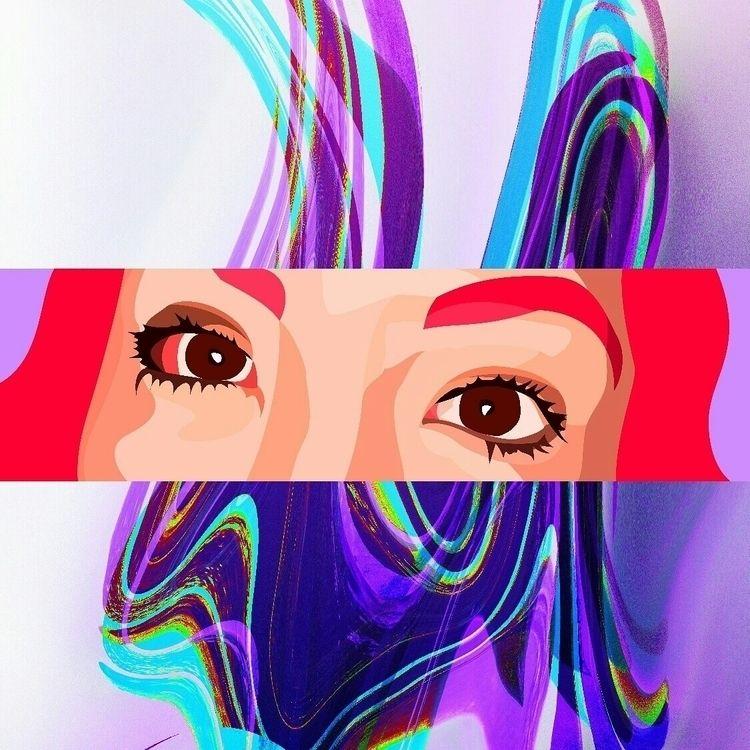 Miradas te cambian - art, artwork - gallard | ello