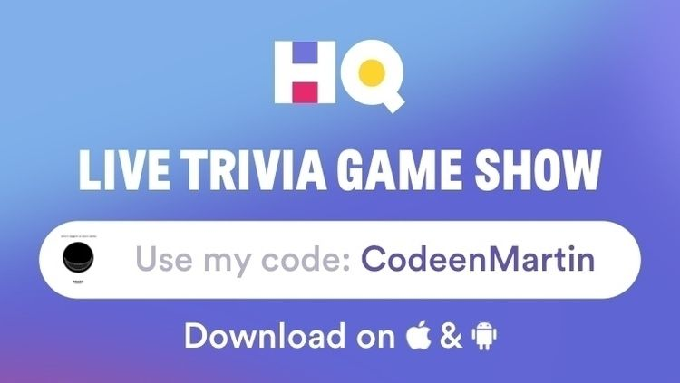 playing game called HQ Trivia!  - tsxgv | ello