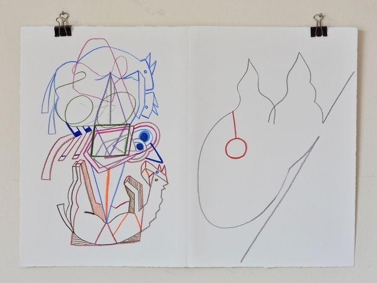 odds 2018, colour pencil paper - tonyvandenboomen | ello