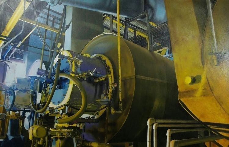 Pressure Oil canvas, 40 60, 201 - jannelson   ello