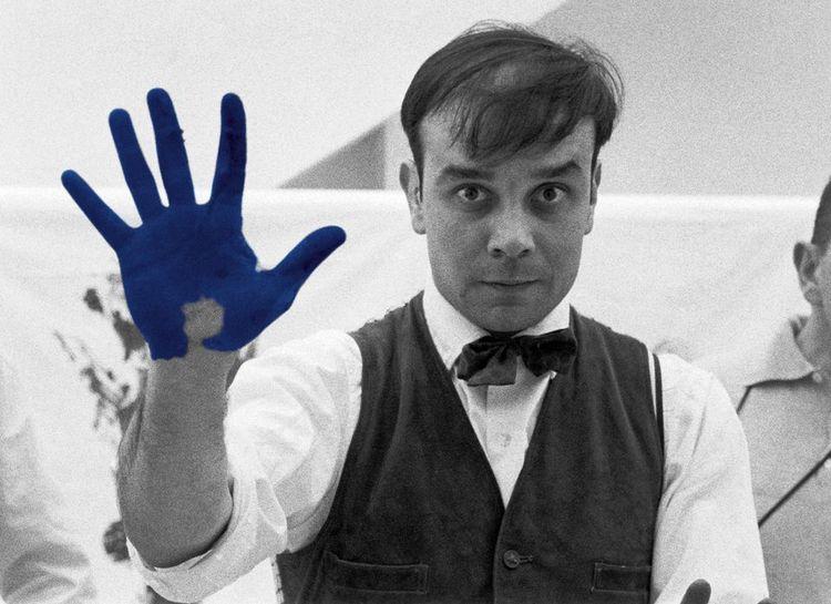 - yves klein - bluevertical | ello