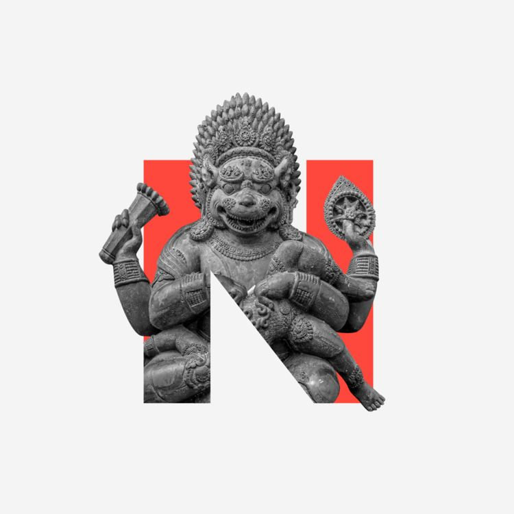 Divine Type: Narasimha  - 36daysoftype - zneuta | ello