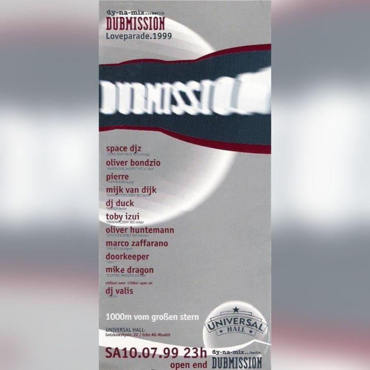 Dubmission Universal Hall Berli - bondziolino | ello