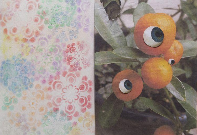 art Journal - eye, sketchbookpages - franalvez | ello