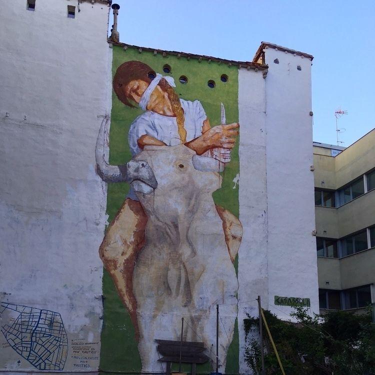 Alegórico el muralito - Madrid, streetart - antoniofse | ello