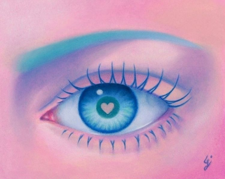 "love weird. ""Strange Love"" eye  - carolinaseth | ello"