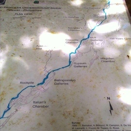Map 8.2-kilometer subterranean  - vicsimon   ello